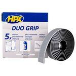 Image de Fixation Duo Grip à clip réajustable - noir 25mm x 2m