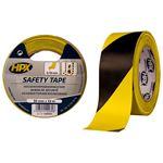 Image de Ruban adhésif de sécurité - jaune/noir 50mm x 33m