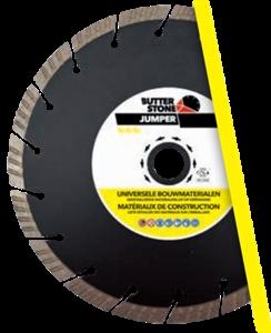 Image sur BUTTER STONE DISQUE DIAMANT MATERIAUX DE CONSTRUCTION JUMPER 230MM