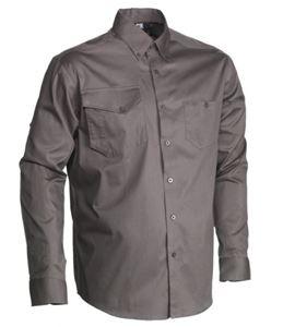 Afbeelding van Liquidation herock chemise nemon gris xxxl