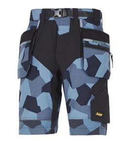 Image sur Snickers Workwear Short FlexiWork HP+ Blue taille 46