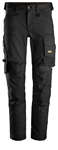 Image de Snickers Workwear AW Stretch Trousers Gris Acier taille 50