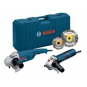 Image sur Bosch meuleuse angulaire GWS 22-230 JH (tricontrol) + GWS 7-125 + 2 DISQUE DIAMANT + COFFRE