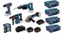 Image sur PROMO BOSCH TOOL KIT 18V 5 MACHINES + 2 ACCUS 8AH + 1 ACCU 4AH L-BOXX