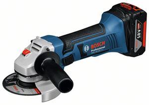Image sur Bosch meuleuse sans fil gws 18-125 v-li  (chargeur et batterie li-ion non livrée)
