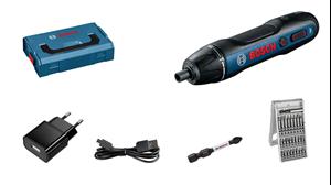 Image sur BOSCH Visseuse sans fil Bosch GO 2.0 Cable USB, adapteur, set d'embouts 25 pièces