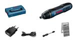Afbeeldingen van BOSCH Visseuse sans fil Bosch GO 2.0 Cable USB, adapteur, set d'embouts 25 pièces