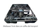 Afbeeldingen van DIAM Mélangeur 230V 1900W ME420 + 2 Pales(140+160) + coffre